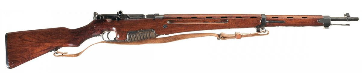 Exceptionally Rare Pre-World War II Japanese Experimental/Pedersen Semi  Automatic Rifle Serial Numbe
