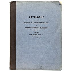 PA, Philadelphia--Chapman Catalog of Captain Andrew C. Zabriskie Collection