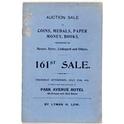 NY, New York City--Lyman H. Low Sale Catalog 161