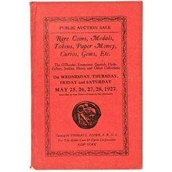 NY, New York City--Thomas Elder Catalog of O'Rourke, Emmerson, Garnich, Hyde, Zellner, Jenkins and H