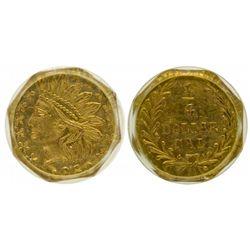 "BG-799W ""Aztec Heads"" 1/4 Dollar"