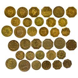 CACal Gold Token Assortment