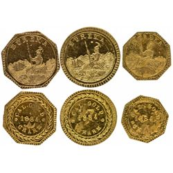 CAEureka Gold Charms