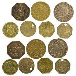 Seven Cal Gold Tokens