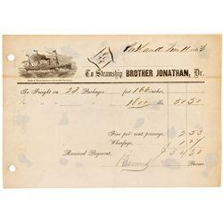 OR, Portland-Multnomah County-Brother Jonathan Receipt