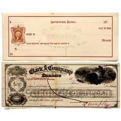 KS, Ft. Leavenworth--Clark & Company Notes