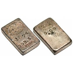 CA, San Francisco--San Francisco Mint Ingot 1274