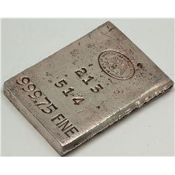 CA, San Francisco--US Mint San Francisco Silver Ingot 27.15 OZS