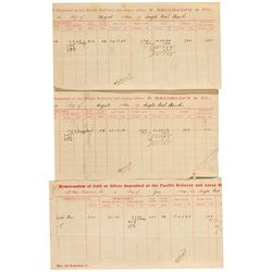 CA, Bodie-Mono County-Bodie Area Assay Sheets