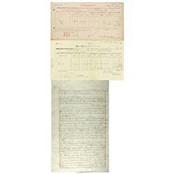 NV, Carson City--Carson City Mint Document