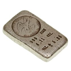 NV, Rawhide-Mineral County-Nevada Silver Co. Ingot