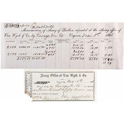 NV, Virginia City-Storey County-Virginia City Assay Receipts