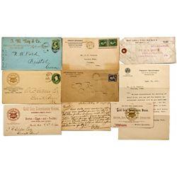 CO, Pueblo--Numismatic Postal Lot