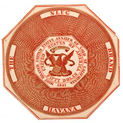 Rare Havana Cigar Label