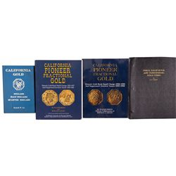 CACalifornia Gold Coins Reference Book Quartet