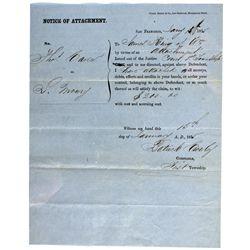 CA, San Francisco--1855 Notice of Attachment