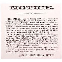 OH, Circleville-Pickaway County-1837 Handbill