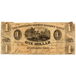 OH, Kirtland--The Kirtland Safety Society Bank $1