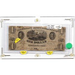 OH, Kirtland--The Kirtland Safety Society Bank $1 Anti-Bank