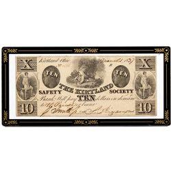 OH, Kirtland--The Kirtland Safety Society Bank $10