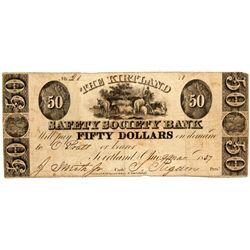OH, Kirtland--The Kirtland Safety Society Bank $50