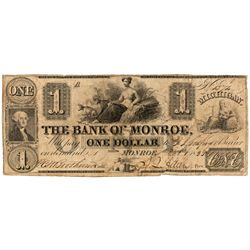 MI, Monroe--Bank of Monroe $1
