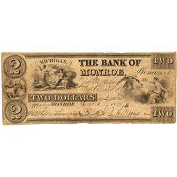 MI, Monroe--Bank of Monroe $2