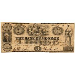 MI, Monroe--Bank of Monroe $3