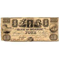 MI, Monroe--Bank of Monroe $4