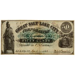 UT, Salt Lake City--Great Salt Lake City Corporation 50c