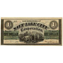 UT, Salt Lake City--Salt Lake City Corporation $1