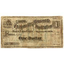 UT, Salt Lake City--Zions Cooperative Mercantile Institution $1