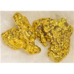 Gold Nugget Stickpins