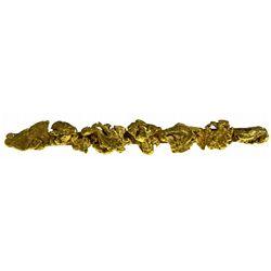 Gold Nugget Tie Clasp