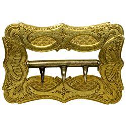 Gold Rush Era Belt Buckle