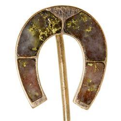 Good Luck Horseshoe Stickpin