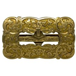 Ornate Gold Rush Buckle