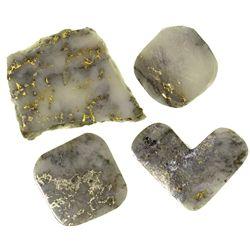 CAPolished California Gold Gray Quartz