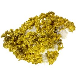CA, Nevada City-Sierra County-Rich Gold in Quartz - German Bar Mine