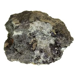 CO, Creede District-Mineral County-Native Silver on Argentite with Galena
