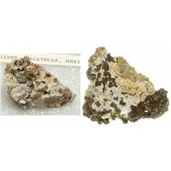 Silver Mineral Specimens