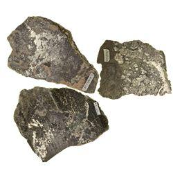 Ontario, Canada-Cobalt-Native Silver Ore Slabs