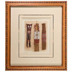 Beaded Pipe Bags Photograph