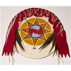 Decorative Native Dance Shield