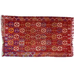 Large Center Stitched Rug