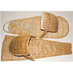 CA, Lee Vining-Mono County-Paiute Willow Cradleboards Pair