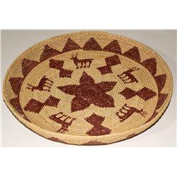 CA, Yosemite-Mariposa County-Broken Buffalo Basket Tray