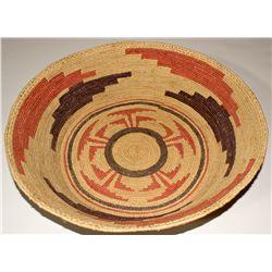 CA, Yosemite-Mariposa County-Broken Buffalo Large Colorful Basket