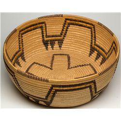 Panamint Large Bowl with Geometric Design
