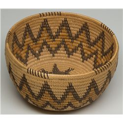 Panamint Polychrome Turtle Basket